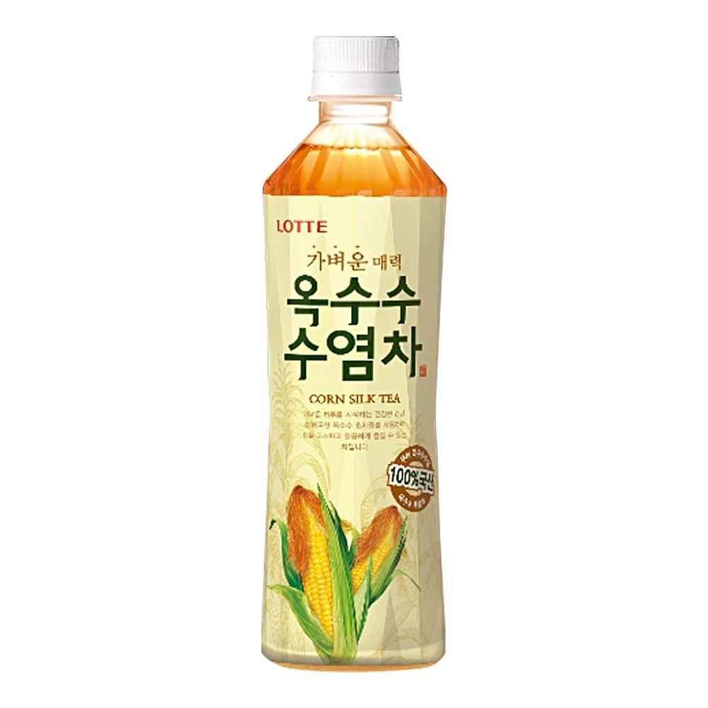 Lotte 樂天玉米鬚茶500ml