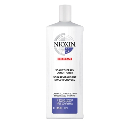 *NIOXIN  6號賦活修護霜1000ml (需豐厚感 染燙後髮質)