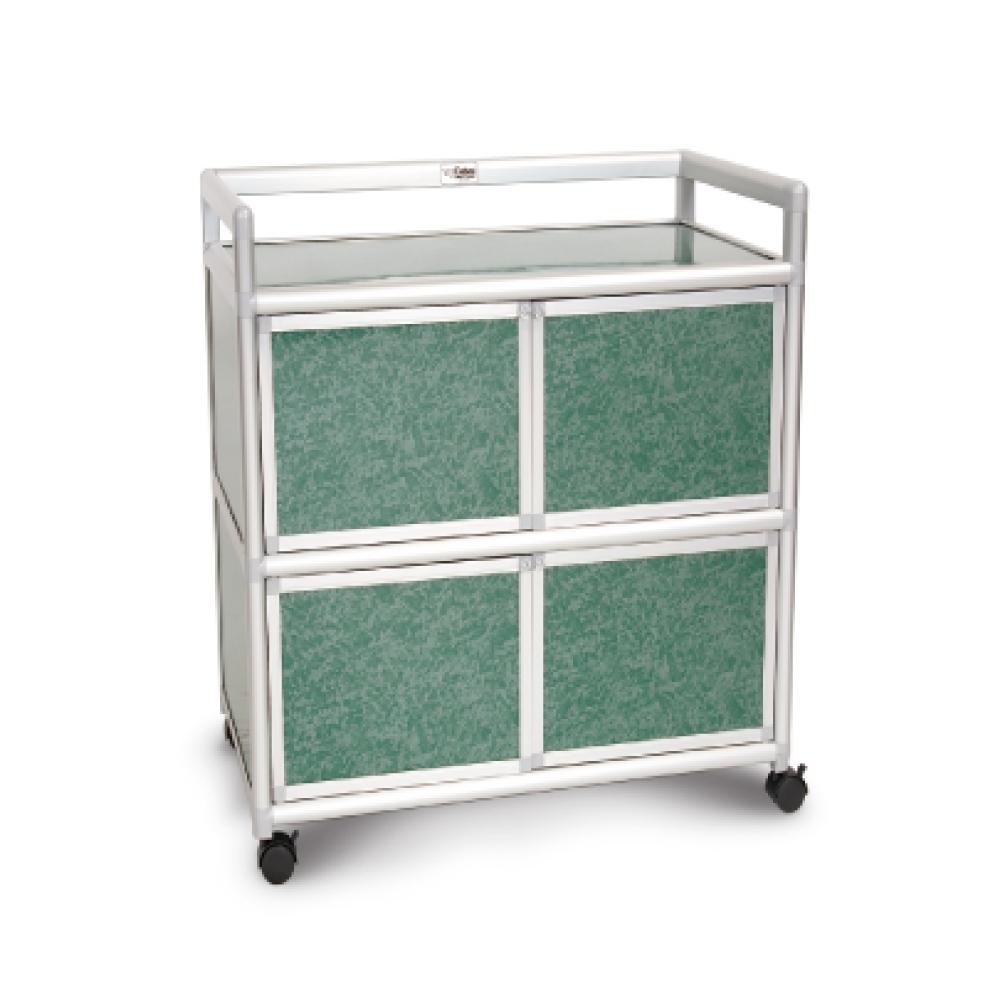 Cabini小飛象-花崗綠得意2.0尺鋁合金四門櫃64.7x50.8x83.6cm