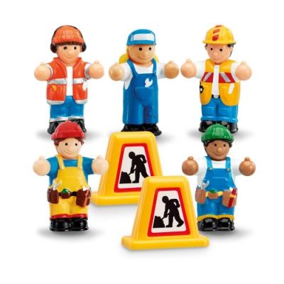【WOW Toys 驚奇玩具】小玩偶 - 工程好朋友小組