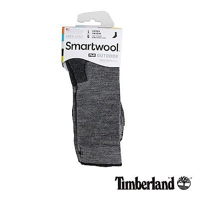 Timberland 男款深灰色羊毛襪
