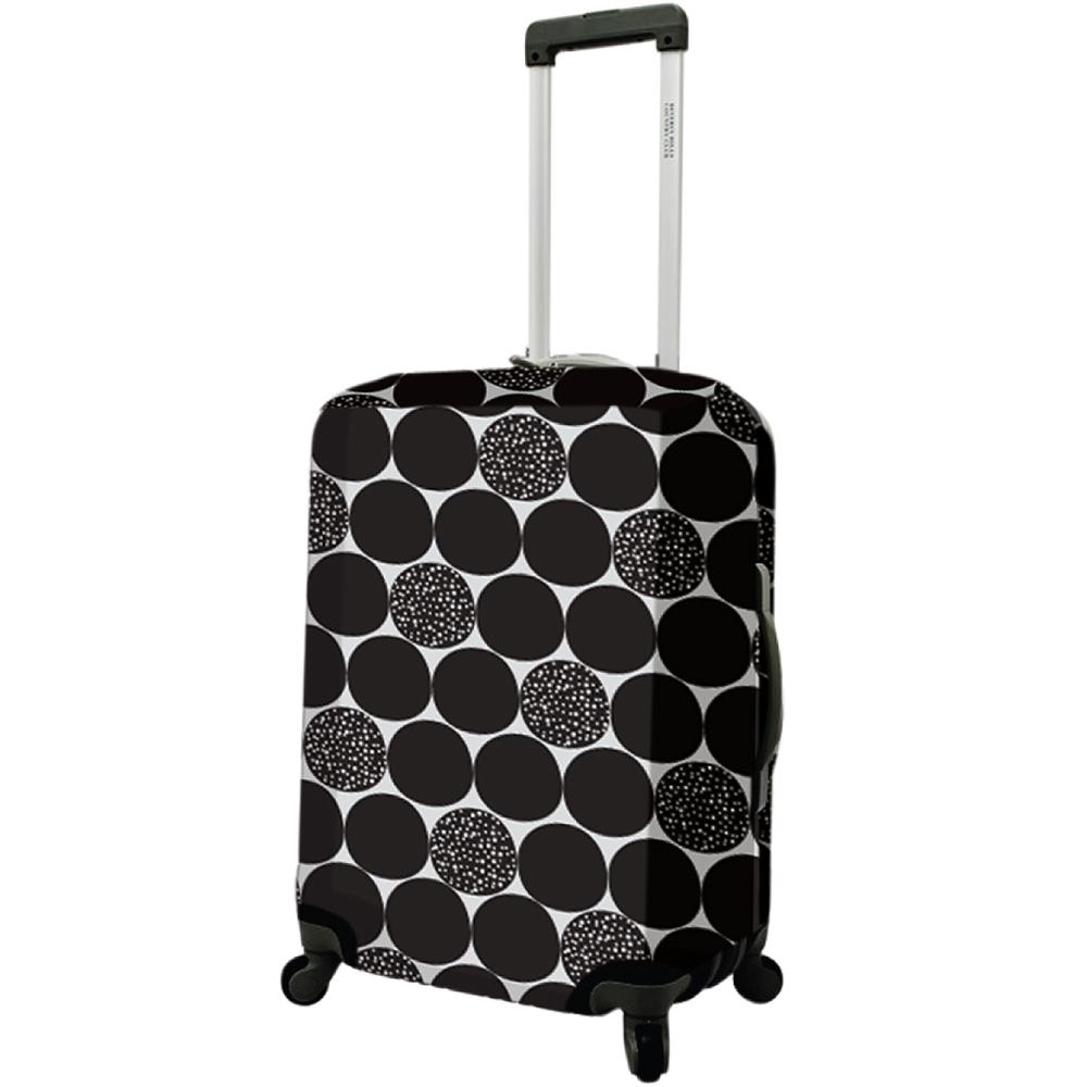 DQ 24吋行李箱套(黑普普)