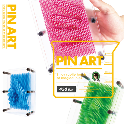 賽先生科學 Pin Art 透明大搞創意複製針 (5色)