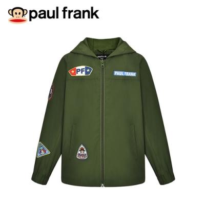 paul frank 猴猴童軍布章防風連帽外套(童)