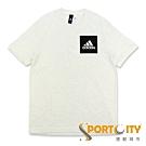 ADIDAS ESS CHEST LOGO 男短袖T恤 米灰 BS4862