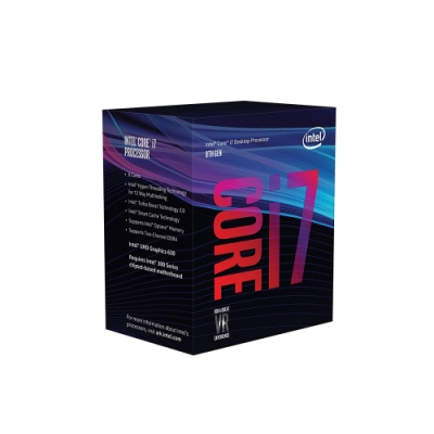 Intel 第八代 Core i7-8700 六核心處理器《代理商貨》