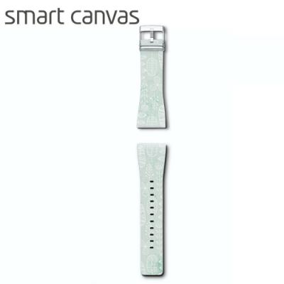 Smart Canva 花漾系列錶帶 原廠公司貨-清新草原