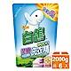 白鴿柔順洗衣精補充包2000g 6入/箱 product thumbnail 1