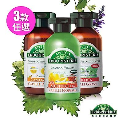 ANTICA 義大利草本專家 草本菁萃洗髮乳250ml(3款)