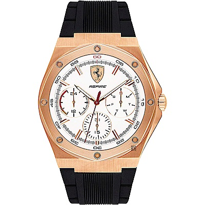 Scuderia Ferrari 法拉利 奔馳日曆手錶(FA0830555)-44mm
