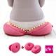 日本COGIT 貝果V型 美臀瑜珈美體坐墊 坐姿矯正美尻美臀墊-粉PINK(多用款) product thumbnail 1