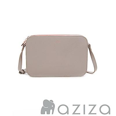 AZIZA  ALYSA 多夾層斜背包-灰