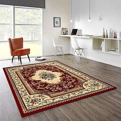 范登伯格 - 卡拉 進口地毯 - 花籃 (紅 - 200x290cm)