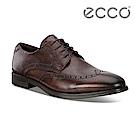 ECCO MELBOURNE 經典紳士雕花正裝鞋 男-棕