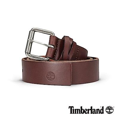 Timberland 中性咖啡色36mm皮帶|A1DP8