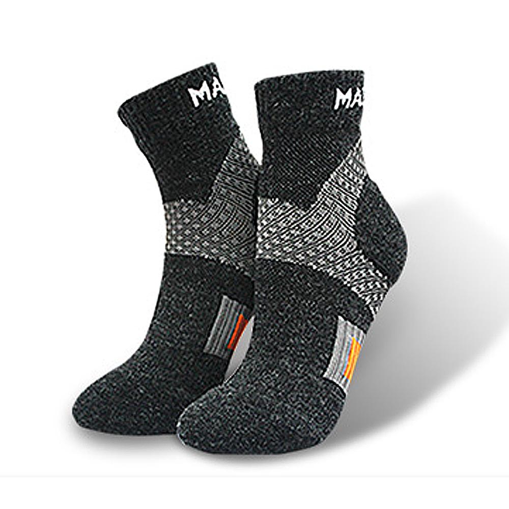 美肌刻 Magicsport 頂級美麗諾 Merino 羊毛運動襪-2雙