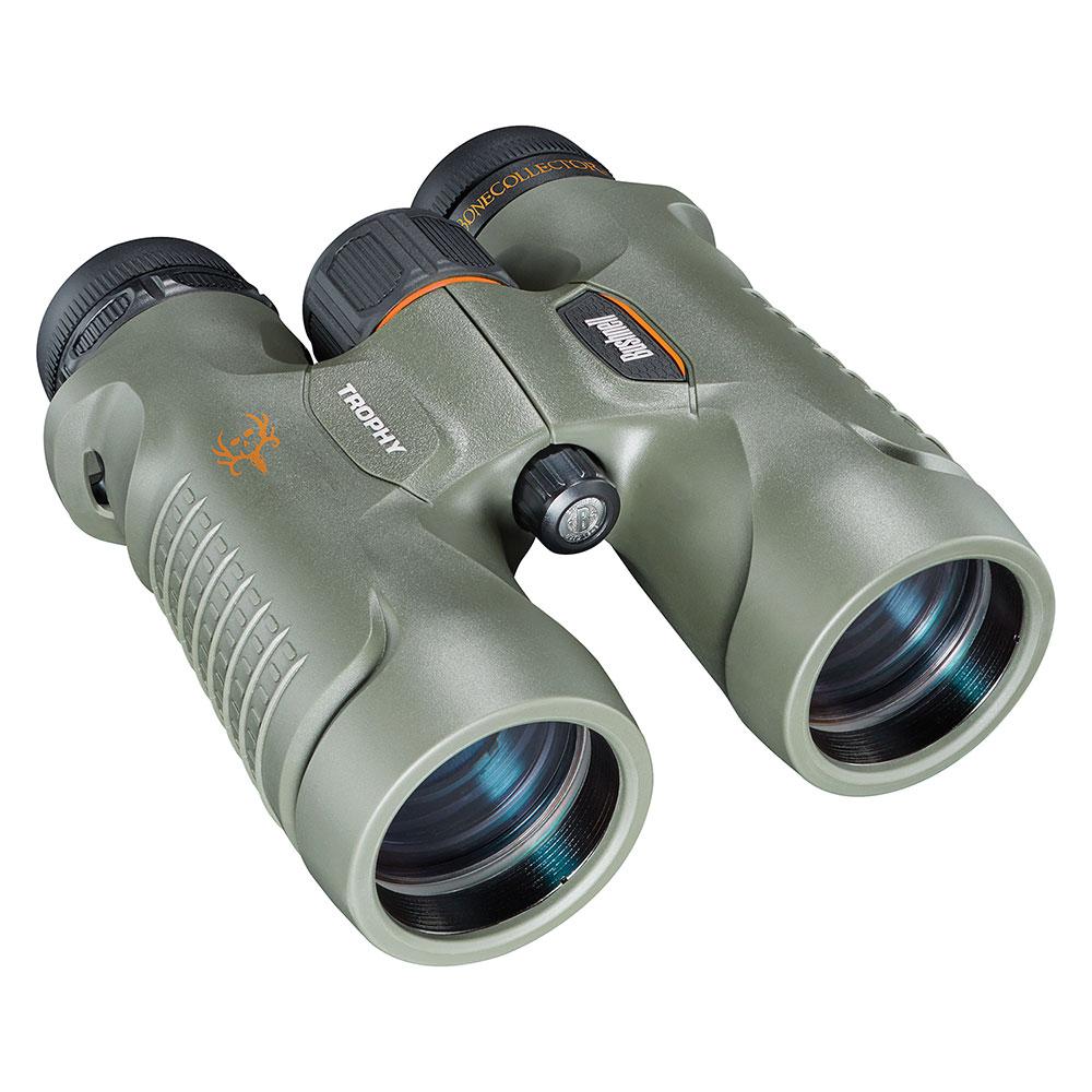 【美國 Bushnell 倍視能】Trophy 新錦標系列 10x42mm 賞鳥型防水雙筒望遠鏡 Bone Collector 獵人特仕版 334210 (公司貨)