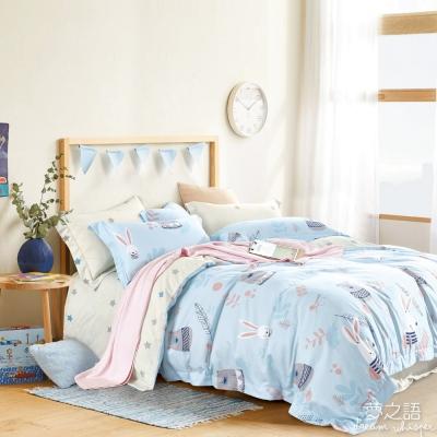 夢之語 3M頂級天絲床包枕套三件組(彼得兔熊)加大