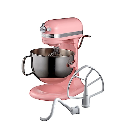 KitchenAid桌上型攪拌機升降型(香檳粉)