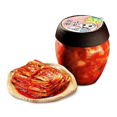 【韓味不二】 韓味道泡菜系列 - 泡菜切片(700g/瓶)