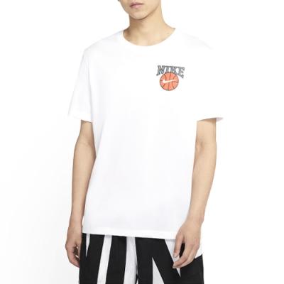 NIKE  休閒 運動 短袖上衣  男款  白  CD1287100  AS M NK DRY TEE VERB DUNK ON U