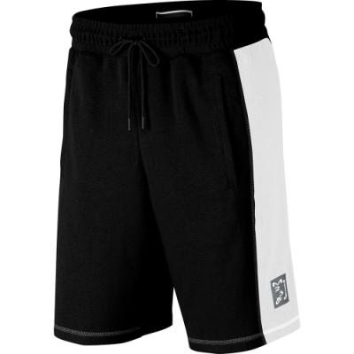 NIKE籃球短褲  男款 運動 健身 喬丹 球褲 黑 AS M J SPRTDNA HBR FLC SHORT
