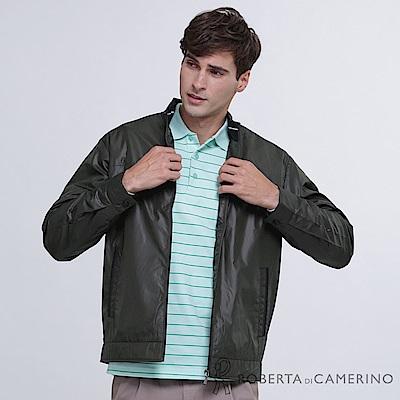 ROBERTA諾貝達 都會休閒 時尚百搭 夾克外套  深綠