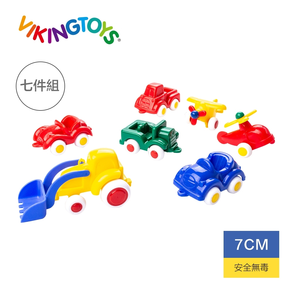 【瑞典 Viking toys】迷你交通小車隊(7件組)-7cm 81119