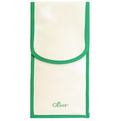 日本可樂牌Clover熨斗收納袋22-110小型熨斗袋燙斗收納袋縫紉用品收納袋魔鬼氈收納袋長形收納袋PVC收納袋