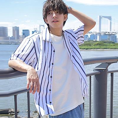 ZIP日本男裝 古巴短袖開領襯衫(12色)