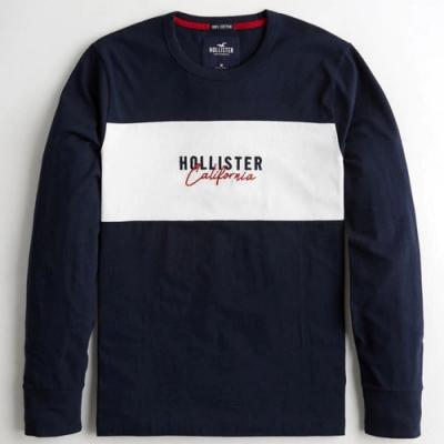 Hollister HCO 長袖 T恤 藍色  1429