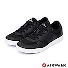 【AIRWALK】輕騎兵休閒滑板鞋-黑色