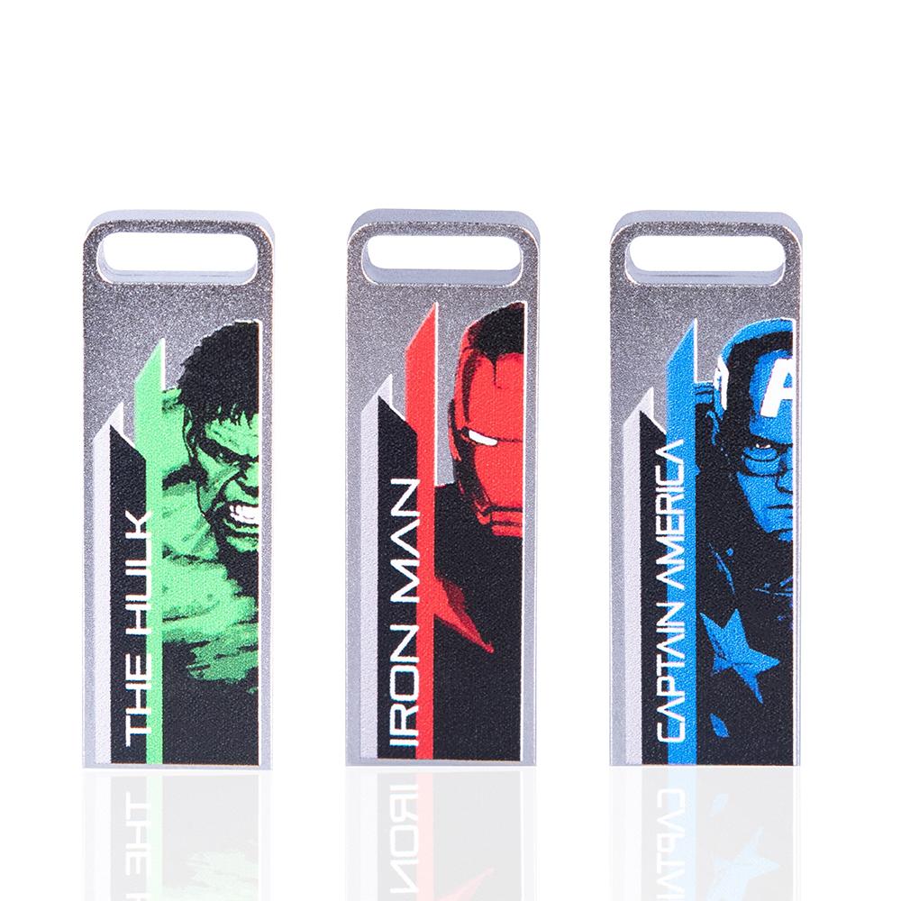 達墨TOPMORE 漫威系列ZXM彩色版 16GB USB3.0 三入組