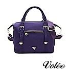 Volee好旅行系列隨行方形多用肩背包-法國紫