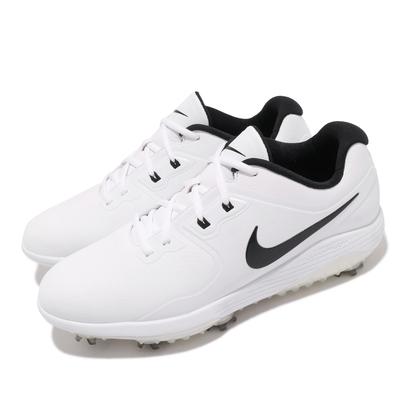 Nike 高爾夫球鞋 Vapor Pro W 寬楦 男鞋 防潑水 基本款 避震 包覆 運動 穿搭 白 黑 AQ2196101