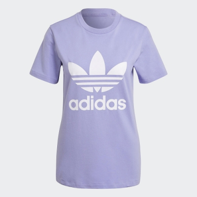 ADIDAS 上衣 短袖上衣 運動 慢跑 休閒 女款 紫 GN2905 ADICOLOR