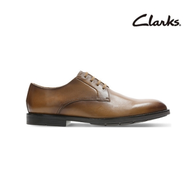 Clarks   工藝世家  Ronnie Walk  男皮鞋  淺棕褐色  CLM48027SD20