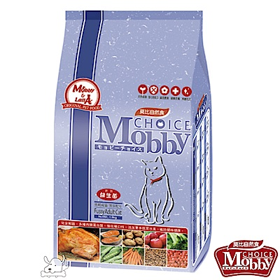 Mobby 莫比 挑嘴成貓饕客 配方飼料 7.5公斤 X 1包