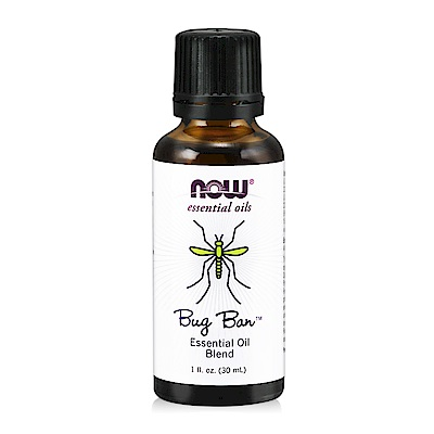 NOW Bug Ban™ Essential Oil Blend 蟲蟲不要來草本複方精油(