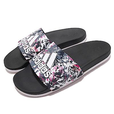 adidas 涼拖鞋 Adilette Cloudfoam 女鞋