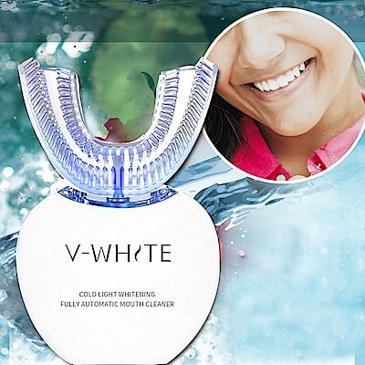 日創優品 美國 V-White變頻牙齒清潔器-4色任選