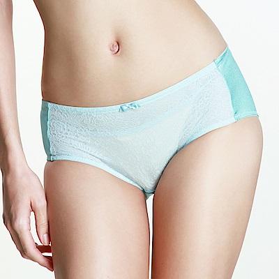 黛安芬-風格自在系列超彈魔術無痕平口內褲 M-EL 蔚藍
