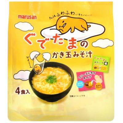 丸山 蛋黃娃娃味噌蛋花湯[附貼紙](36g)