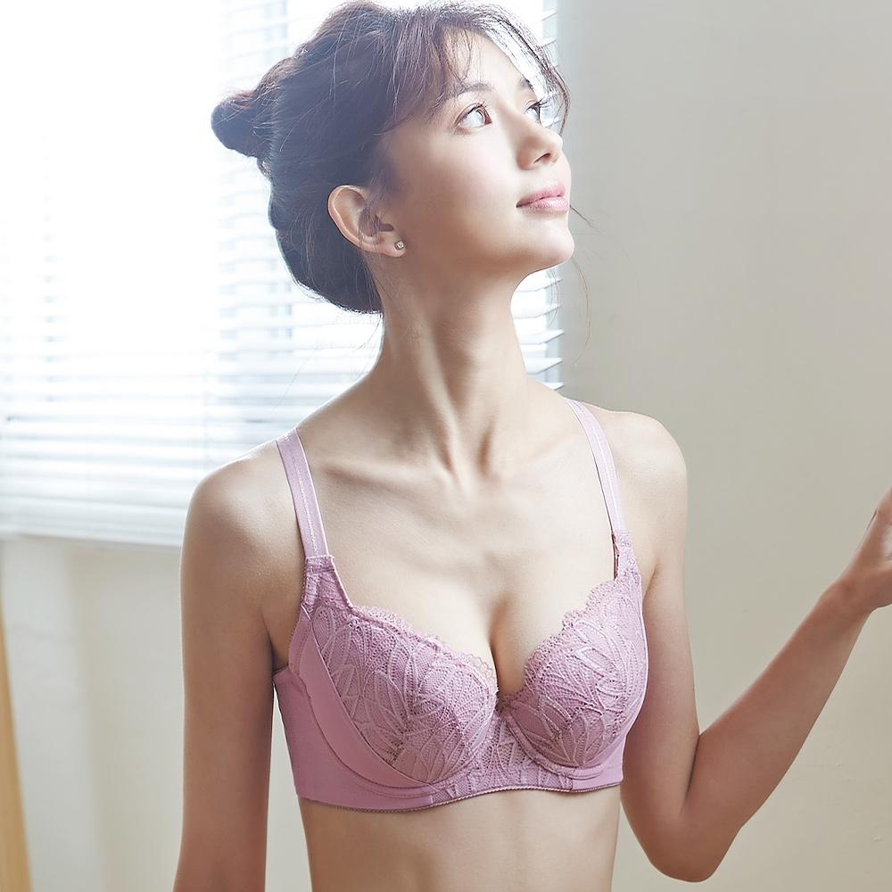 蕾黛絲-盼曦 B-F罩杯內衣 梅粉