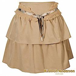 【Kinloch Anderson 金安德森女裝】腰飾網布短裙