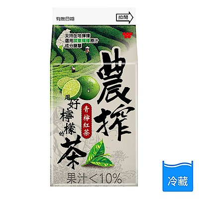 農搾檸檬紅茶375ml(3瓶入)