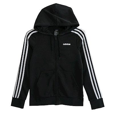 Adidas 愛迪達 W E 3S-連帽外套-女