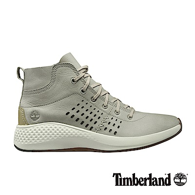 Timberland 女款FlyRoam Go白色中筒飛型鞋