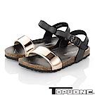TOPU ONE 親子鞋-輕量減壓腳床型涼鞋童鞋-粉