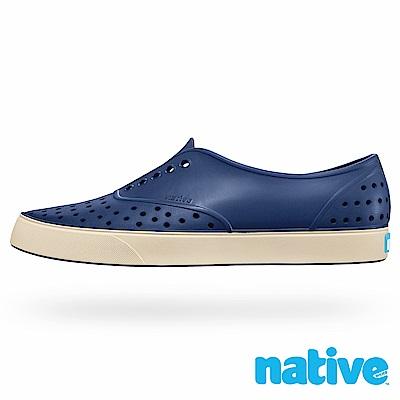 native MILLER 男/女鞋-鯨魚藍x牛奶骨